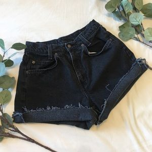 Levi's | Vintage Orange Tab High Waisted Shorts